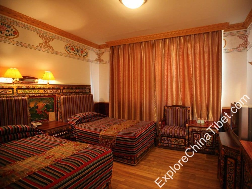 Tibet Gorkha Hotel Deluxe Twin Bed