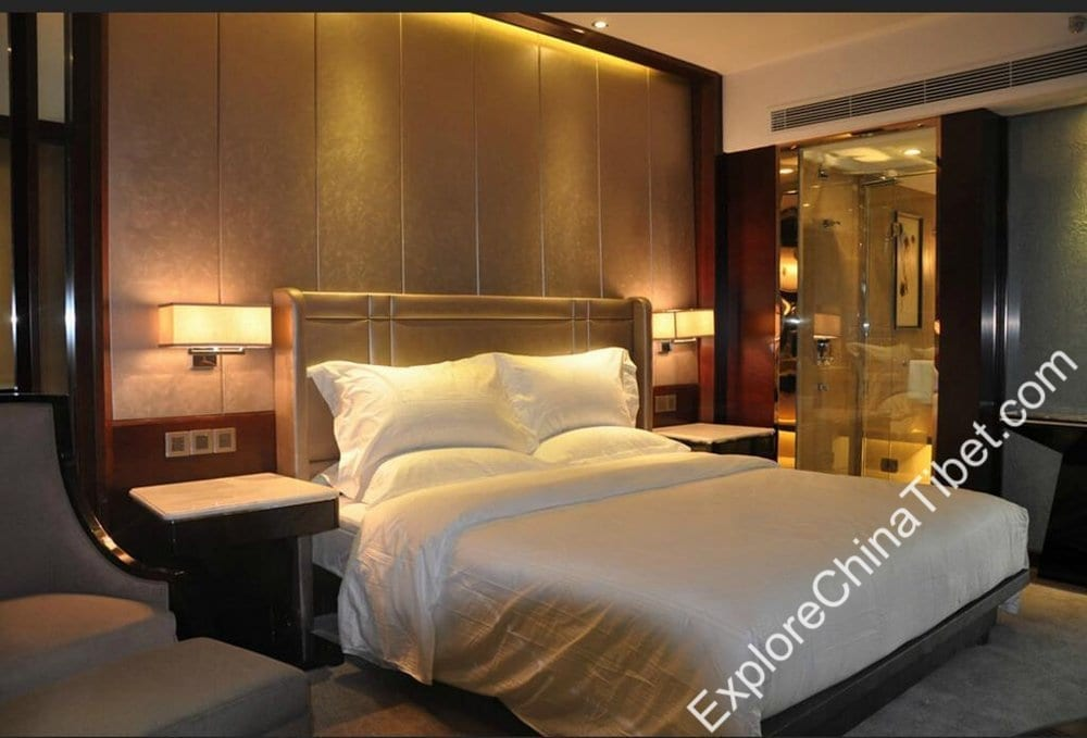 Tibet Minshan Hotel Deluxe Double Room
