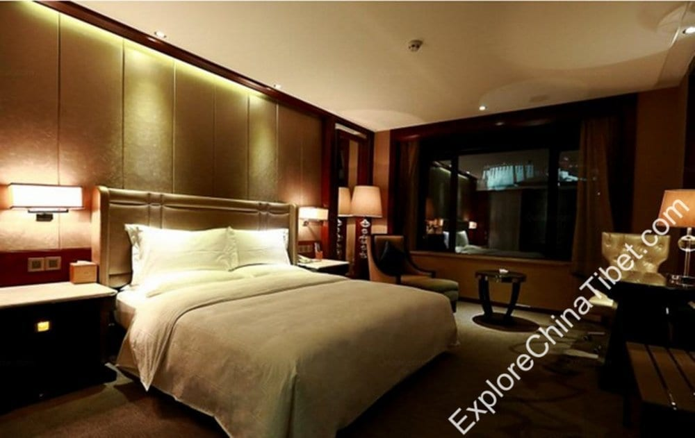 Tibet Minshan Hotel Superior Double Room with View