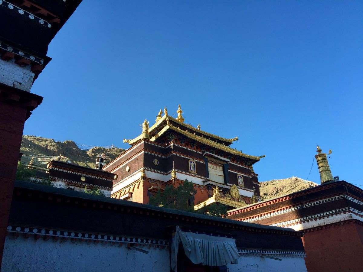 Tibet Shigatse Tashilhunpo Monastery picture