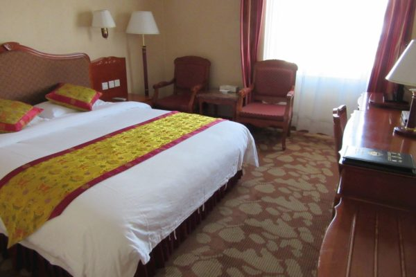 Tsetang Hotel Deluxe Double Room