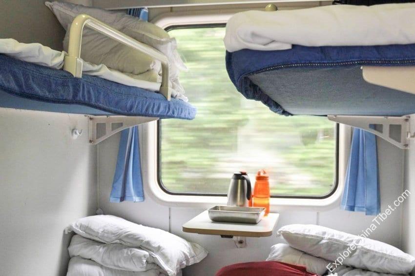 Chengdu to Lhasa Train Hard Sleeper