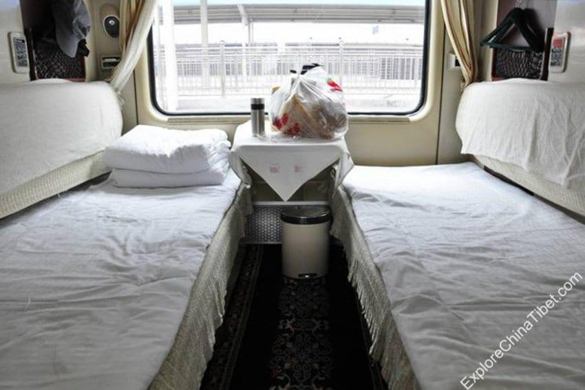 Chengdu to Lhasa Train Soft Sleeper
