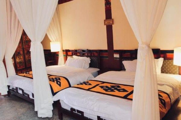 Lhasa Badacang Hotel Deluxe Twin Room