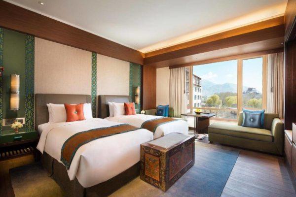 Shangri-La Lhasa Hotel Horizon Club Twin Room with Potala View