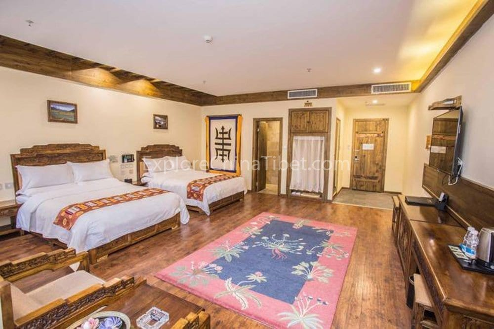 Shellong Manor Deluxe Twin Room