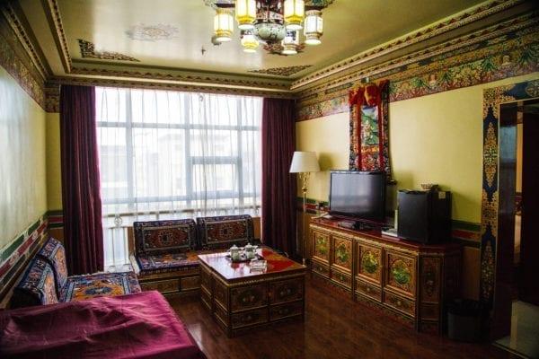 Shigatse Gesar Hotel Deluxe Suite