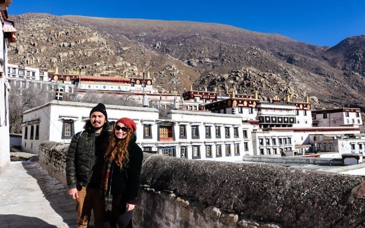 Tibet Lhasa Drepung Monastery sightseeing tour