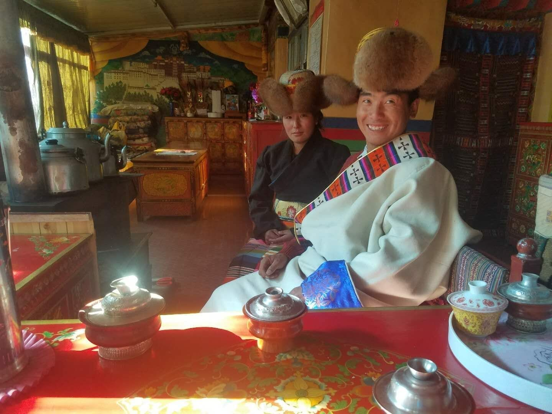 Tibetan Charity Tour-Tibetan Home Visit