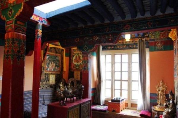 Yabshi Phunkhang Heritage Hotel Standard Twin Room