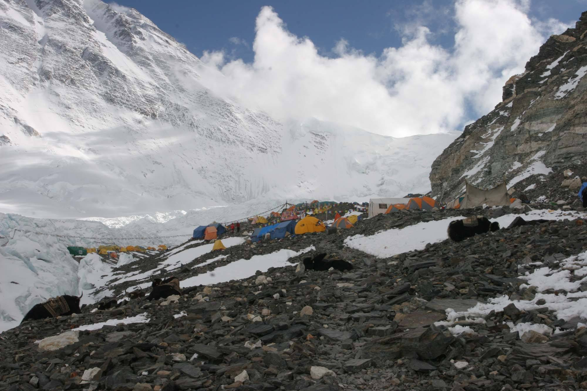 everest advance base camp