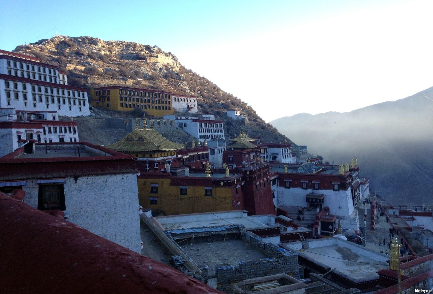 ganden monastery lhasa tibet