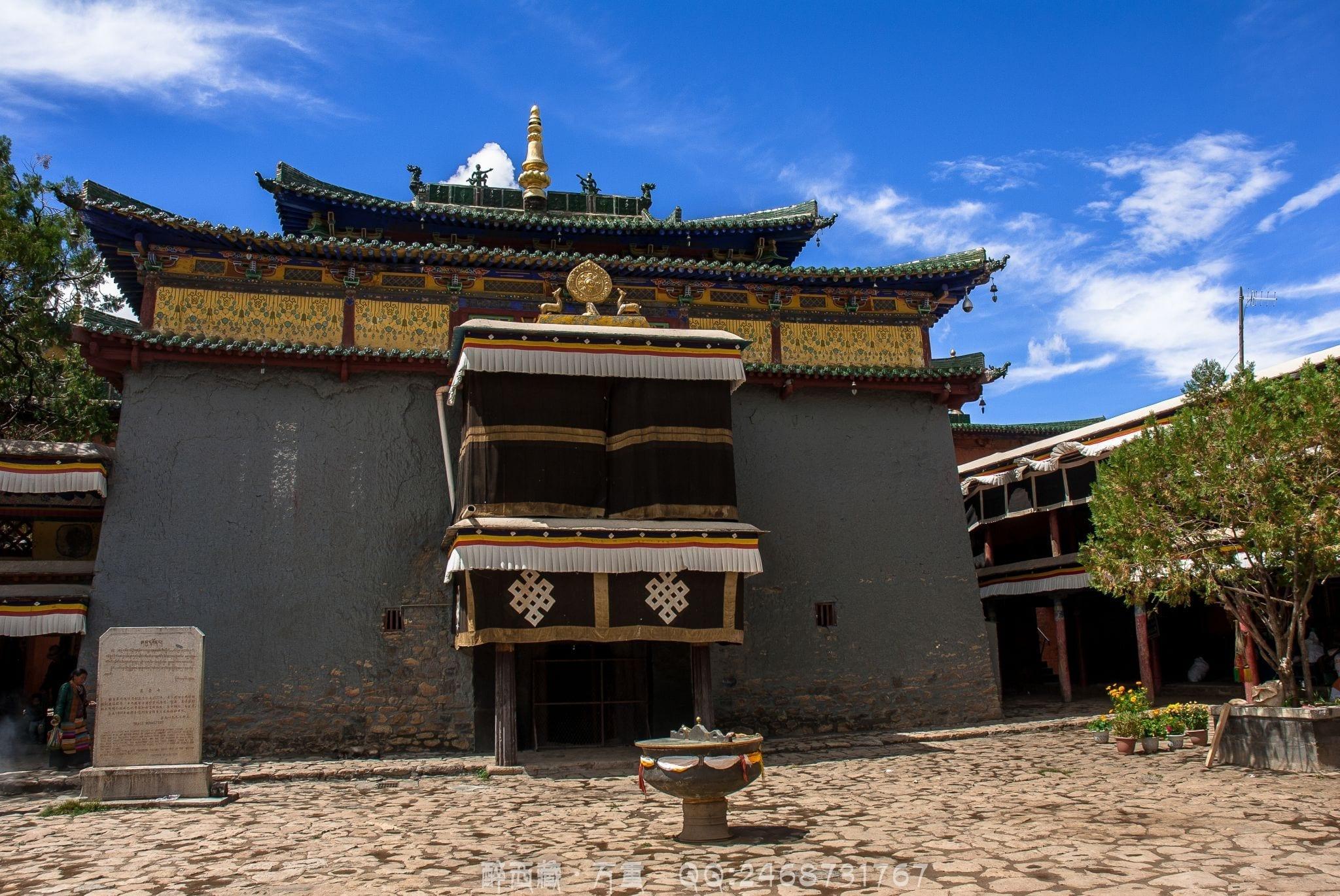 shalu monastery tibet