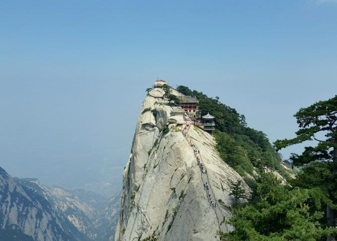 1 Day Mt. Huashan Tour by High-Speed Train Featured