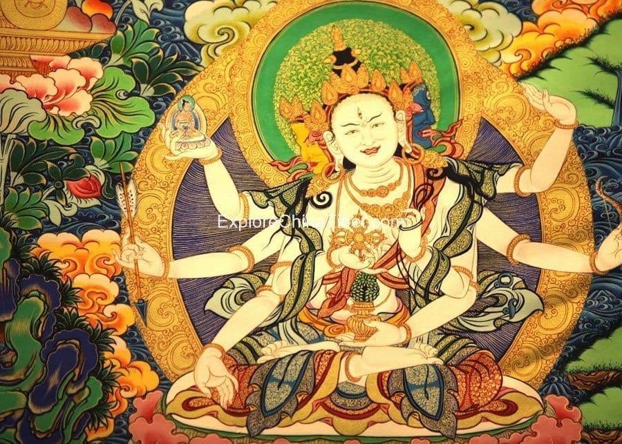 1 Day Tibetan Thangka Artist Tour With Tibetan Home Lunch-1