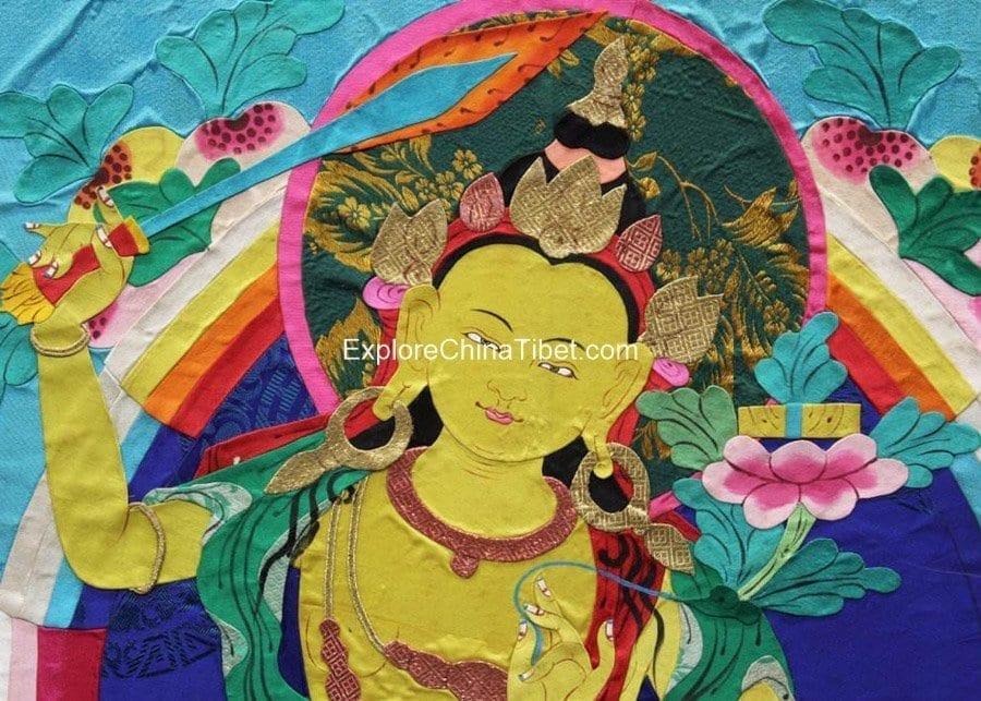 1 Day Tibetan Thangka Artist Tour With Tibetan Home Lunch-8