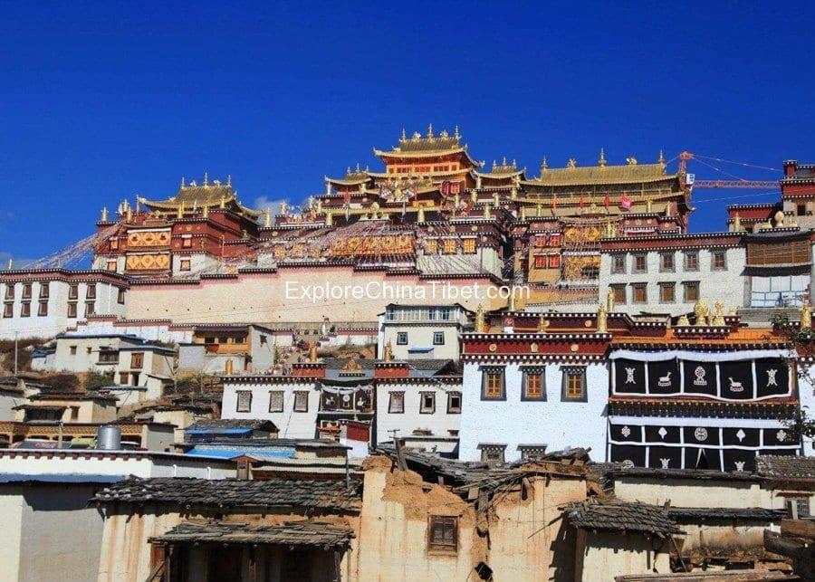10 Days Yunnan Classic Tour-Songzanlin Monastery