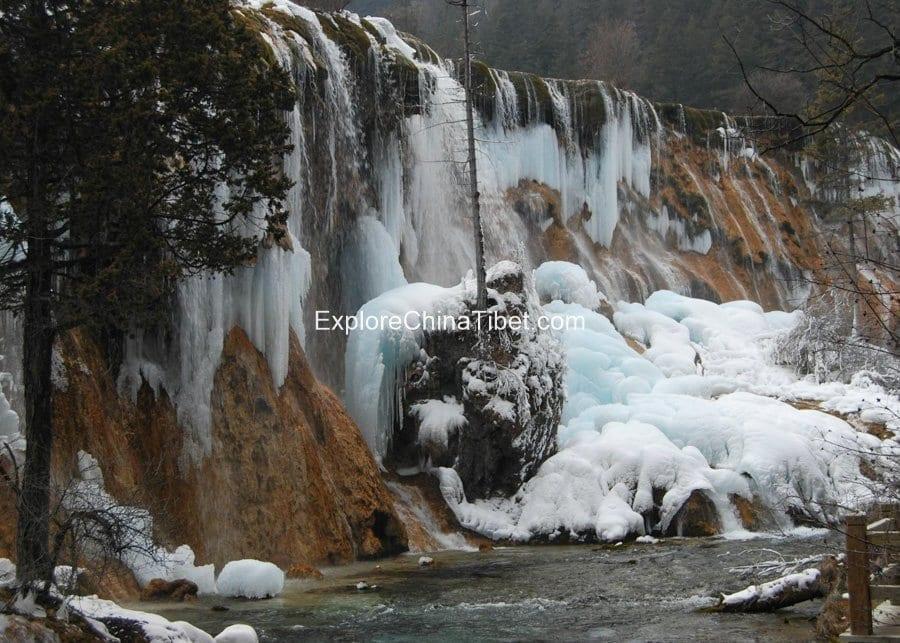 2 Days Jiuzhaigou Private Tour-Pearl Shoal Waterfalls