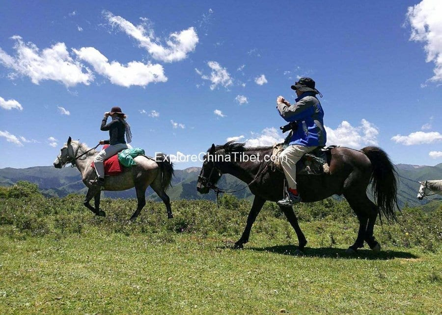 5 Days Sichuan Songpan Horse Riding Tour 9
