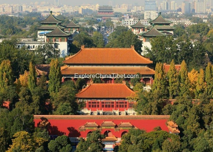 Beijing Jingshan Park 4
