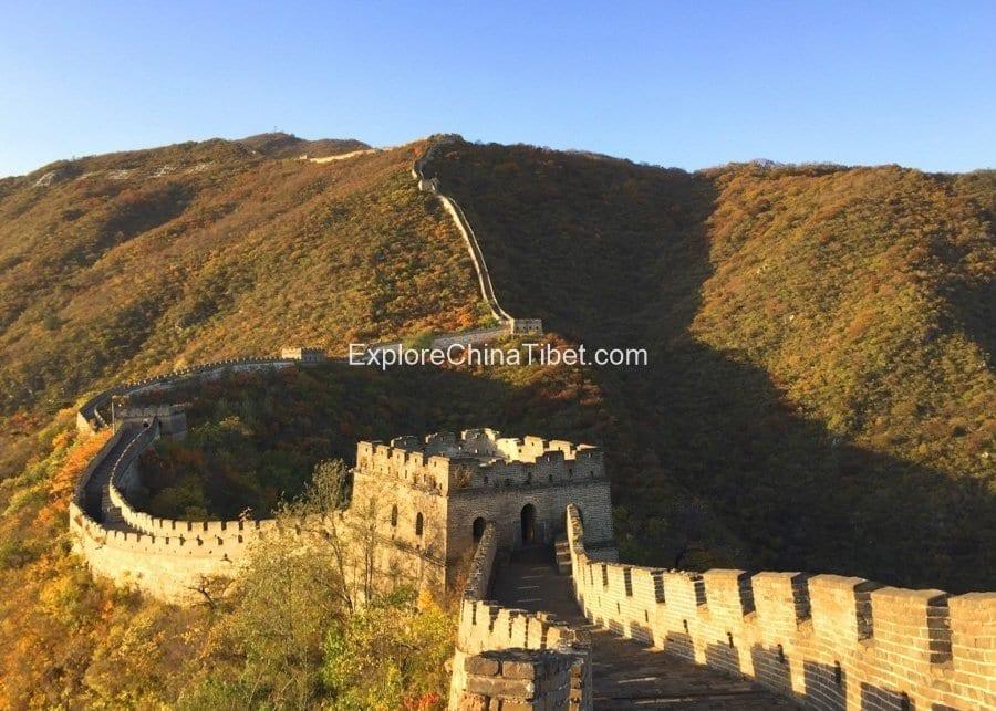Beijing Mutianyu Great Wall3