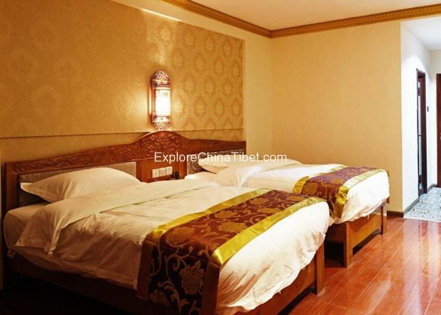 Bomi Wangshi Hotel Business Twin Room