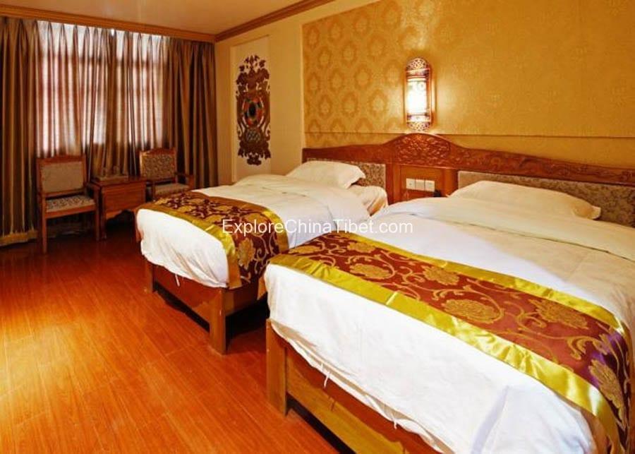 Bomi Wangshi Hotel Deluxe Twin Room