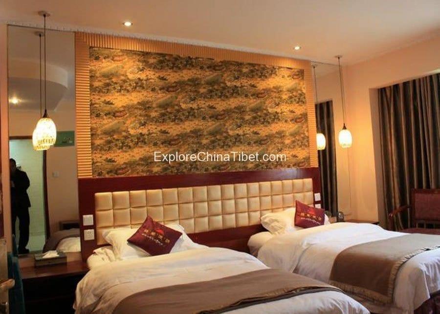 Chamdo Hotel Tibet Deluxe Standard Room
