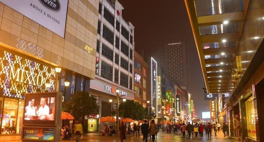 Chengdu Attractions: Landmarks in Chengdu-Chunxi Road