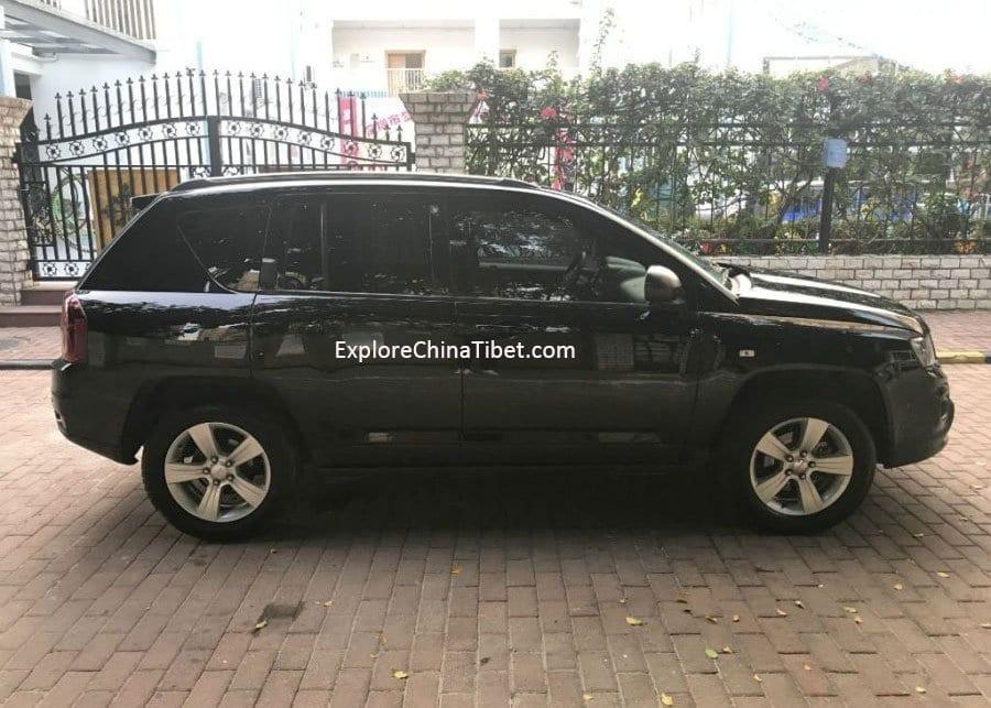 Sichuan Car Rental Service-China Car Rental Jeep Compass-Appearance 1