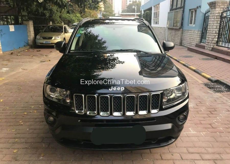 China Car Rental Jeep Compass- Appearance 2
