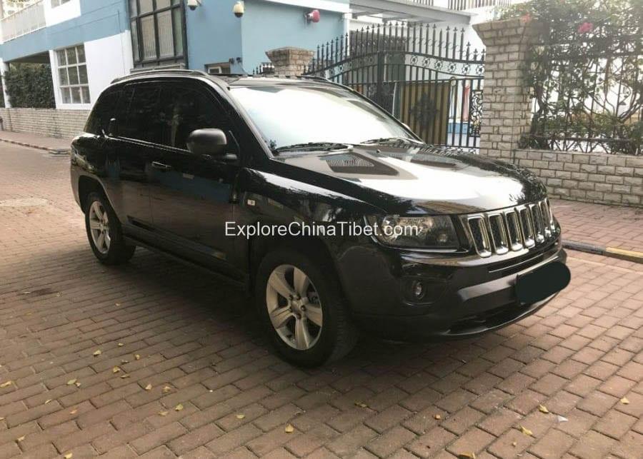 China Car Rental Jeep Compass- Appearance 6
