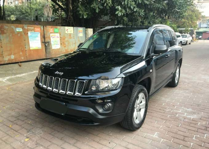 China Car Rental Jeep Compass- Featured
