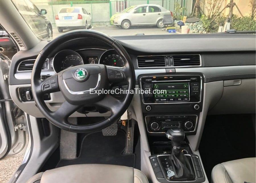 China Car Rental Volkswagen Skoda-Driving Seat
