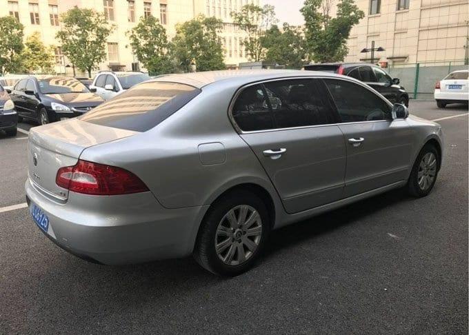 China Car Rental Volkswagen Skoda-Featured