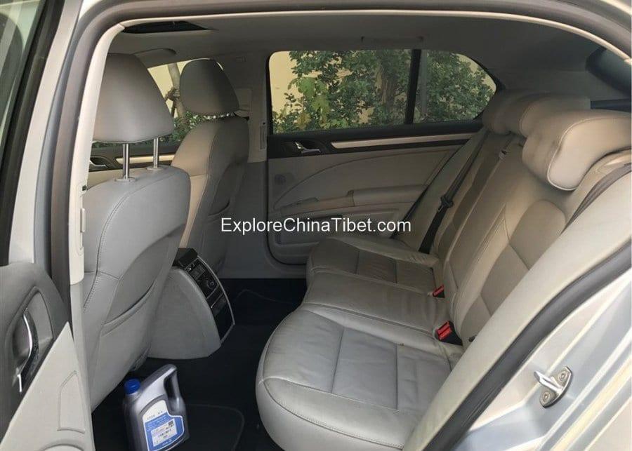 China Car Rental Volkswagen Skoda-Rear Seats 2