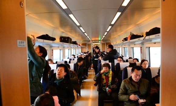 China Trains Travel Route Shanghai-Chengdu High Speed Train