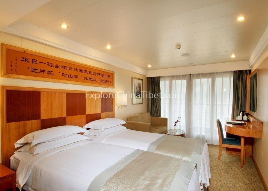 Chongqing to Yichang Century Diamond Cruise Deluxe Cabin