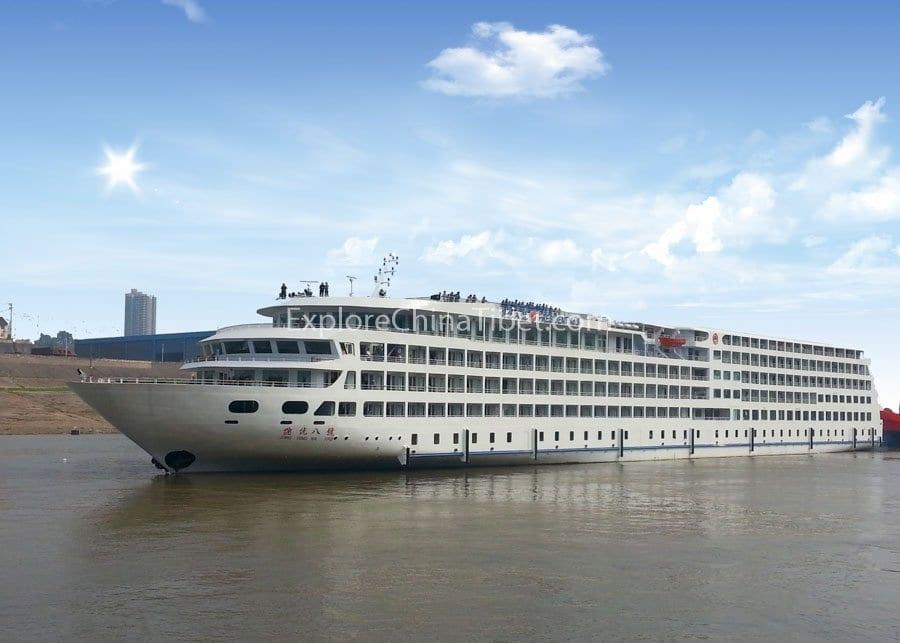 Chongqing to Yichang President No.8 Cruise 1-2