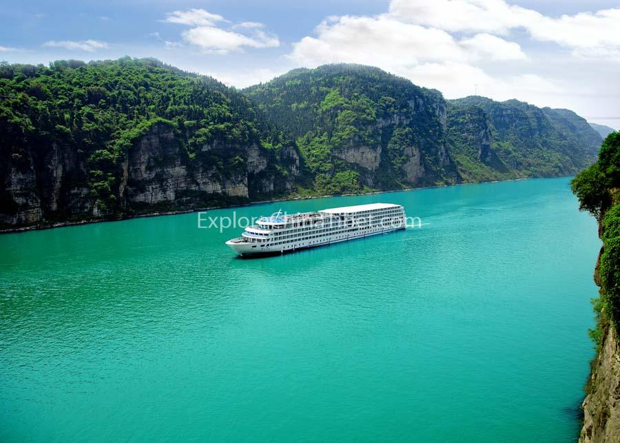 Chongqing to Yichang President No.8 Cruise 2-14