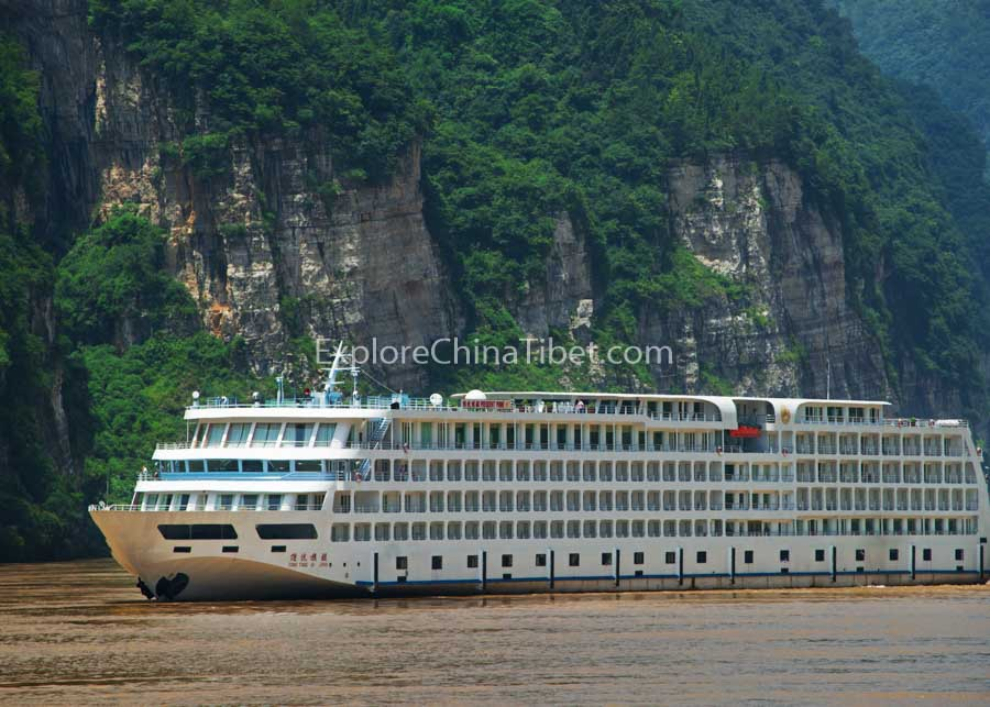 Chongqing to Yichang President Prime 6 Cruise 2-16