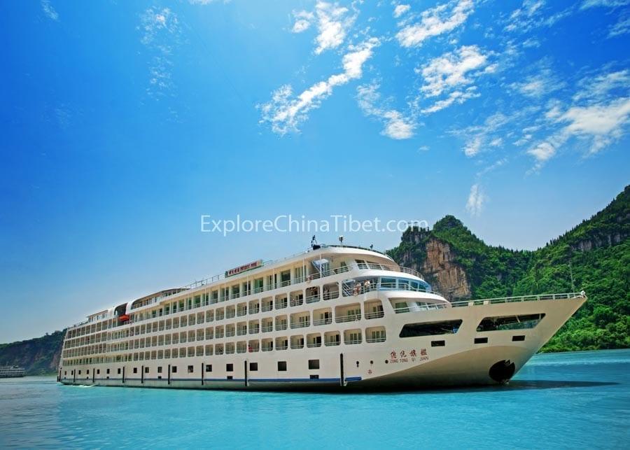 Chongqing to Yichang President Prime 6 Cruise 3-17