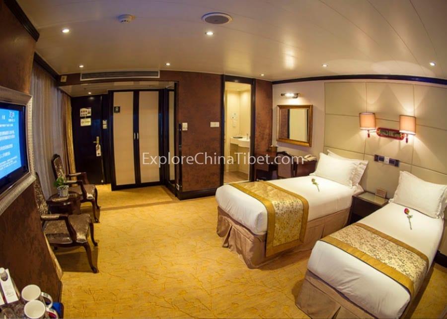 Chongqing to Yichang Victoria Jenna Cruise Superior Cabin