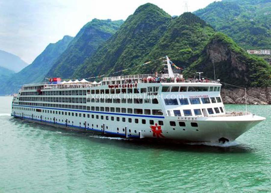Chongqing to Yichang Yangtze Gold 6 Cruise 1