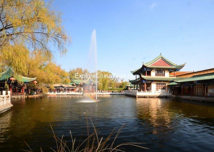 Kunming City Tour-Green Lake Park