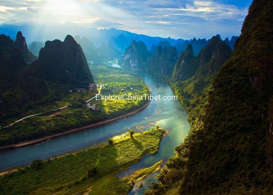 Guilin Climbing Tour Xianggong Mountain