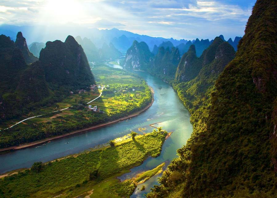 Half-Day Yangshuo Mountains Private Tour Featured