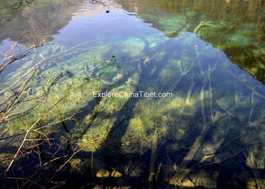 Jiuzhaigou Day tour-Mirror Lake