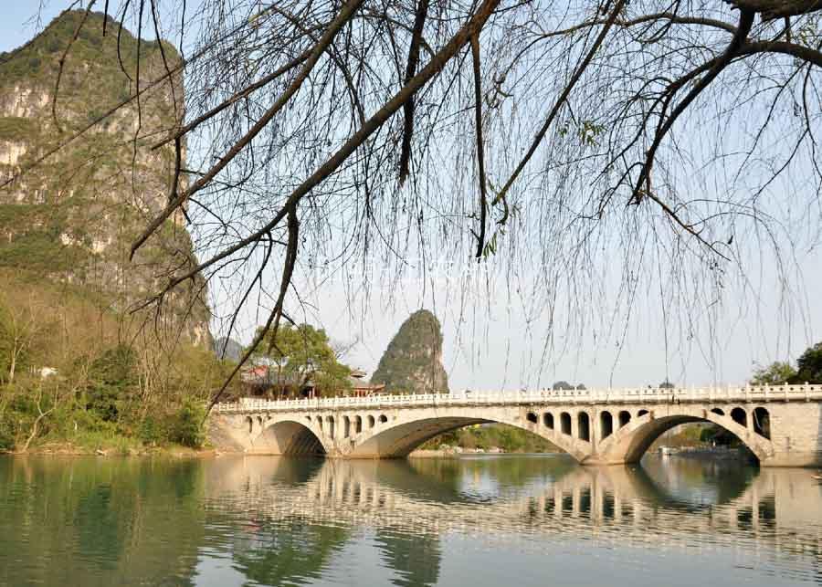 Li River Cruise Tour of Yangshuo With Jiuxian Village and Optional Yulong Bamboo Rafting Featured
