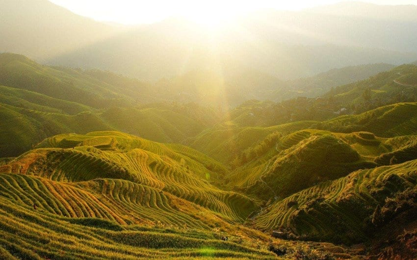 List of All Guilin Best Places to Visit-JinKeng Rice Terraces With Dazhai
